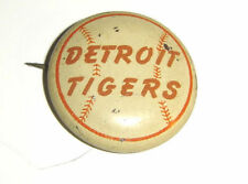 Detroit Tigers Antique Pinback Button Pin Vintage MLB Americana Collectible!