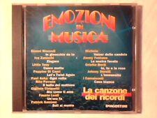 CD La canzone dei ricordi Emozioni in musica GIANNI MORANDI MICHELE COME NUOVO