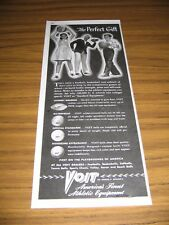 1947 Print Ad Voit Athletic Equipment Football,Basketball,Soccer Balls