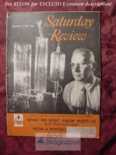 Saturday Review January 4 1958 VAN WYCK BROOKS VOLNEY WILSON JAMES AVERY JOYCE