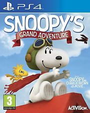 Snoopy's Grand Adventure: Peanuts Movie [PS4 Playstation 4 Charlie Brown] NEW