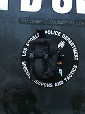 Dragon in Dreams DID LAPD SWAT Black Drop Leg Large Pouch Loose 1/6th scale