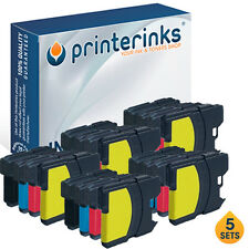 20 LC1100HY Compatible Printer Ink for Brother MFC-5895CW MFC-5890CN MFC-6490CW