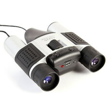 4In1 Digital 10x25 Binoculars Camera Telescope Video Camcorder CMOS 1.3MP Webcam