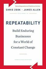 (NEW)  REPEATABILITY  by Chris Zook- Hardcover ( Free Shipping)