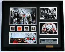 New Guns N Roses Signed Limited Edition Memorabilia Framed