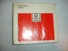 EC Detroit Diesel Inline In-Line Series 71 Service Shop Repair Manual April 1986