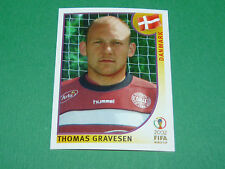 N°87 GRAVESEN DANMARK PANINI FOOTBALL JAPAN KOREA 2002 COUPE MONDE FIFA WC