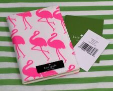 Kate Spade Flamingo Sunglasses Daycation Passport Ticket Case Wallet New NWT