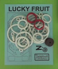 Zaccaria Lucky Fruit pinball rubber ring kit
