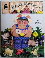 """Only The Beary Best"" Tole Painting Craft Project Book: Wood Bears Country Decor"
