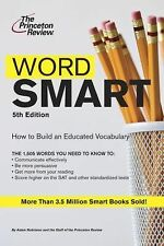 Smart Guides: Word Smart, 5th Edition by Princeton Review (2012, Paperback)