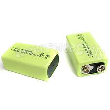 1 x 9V 9.0 V 400mAh Ni-MH Batteria Ricaricabile Verde