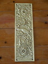 CAST BRASS PARROT FINGER DOOR PUSH PLATES FINGERPLATE