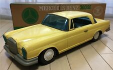 Large Ichiko Mercedes Benz Friction Tin Car Toy Japan ANTIQUE ford masudaya