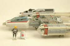 Galoob Star Wars Micro Machines Action Fleet Red Y-Wing & R2 D2