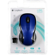 NEW in sealed Logitech M510 Wireless Mouse, Blue (910-002533)