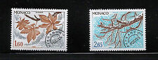 Monaco 1980 Pre-cancels - Trees - 2 x Unmounted mint
