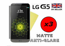 3x HQ MATTE ANTI GLARE SCREEN PROTECTOR COVER SAVER LCD FILM GUARD FOR LG G5