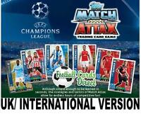 Match Attax Champions League 2015/2016 15/16 BASE - D ZAGREB, AS ROMA, JUVENTUS