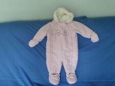 Pour bébé fille 9-12 mois-rose à capuche pramsuit-petite princesse-Coccinelle