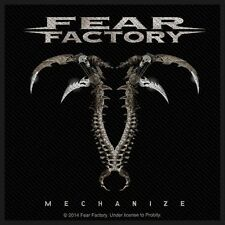 FEAR FACTORY - Patch Aufnäher Mechanize 10x10cm