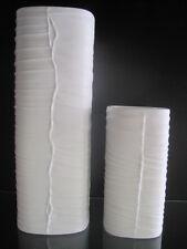 2 Vasen Rosenthal Studio Linie weiss gross klein Grosse signiert mit Schreib