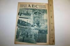 $ ABC, EL CAUDILLO EN ZARAGOZA, 19 DICIEMBRE 1940 LEER