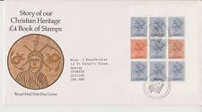 GB ROYAL MAIL FDC FIRST DAY COVER CHRISTIAN HERITAGE PRESTIGE PANE CANTERBURY
