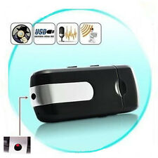 Hot Mini DVR U8 Spy Hidden Security Motion Detector Video Recorder Camera USB