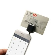 3.5mm Headphone Mini Magnetic Mobile Card Reader Works Support Apple and Android