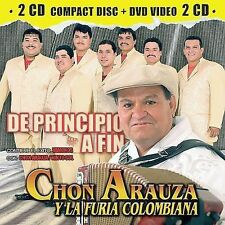 La Furia Colombiana De Principio a Fin CD ***NEW***