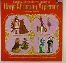 "12"" LP - Walt Disney - Hans Christian Andersen - k5846 - washed & cleaned"