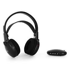 WIRELESS HIFI INFRAROT FUNK KOPFHÖRER HEADPHONES KABELLOS PC MP3 AKKU IR 7M