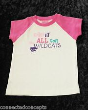 Kansas State University Did It All for the Wildcats Youth Girls T-Shirt XSmall