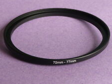72mm to 77mm 72mm-77mm Stepping Step Up Filter Ring Adapter