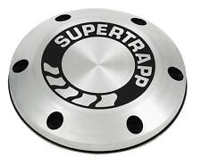 SuperTrapp Aluminum End Cap w/ Shield w/ Logo  4 in 402-3046*