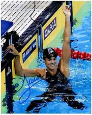 DARA TORRES Signed Autographed TEAM U.S.A. Olympic Swimming 8x10 Pic. H