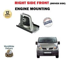 FOR NISSAN PRIMASTAR + VAN 2002--> NEW FRONT RIGHT DRIVER SIDE ENGINE MOUNTING