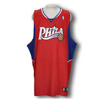 Adidas NBA Basketball Men's Philadelphia 76ers Authentic Blank Jersey - Red
