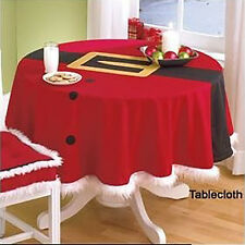Christmas Home Decoration Red Table Cloths Cover Party Gift Dining Placemats