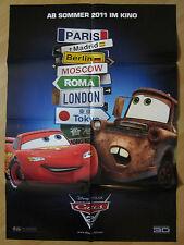 Filmposter * Kinoplakat * A1 * Cars 2 * 2011 * Teaser