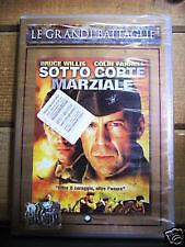 Dvd - SOTTO CORTE MARZIALE