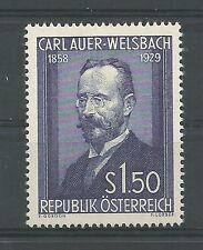 Österreich 1954 25. Todestag von Carl Auer von WELSBACH **
