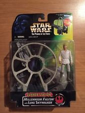 1997 Star Wars POTF Gunner Station Millennium Falcon W/Luke Skywalker, MISP