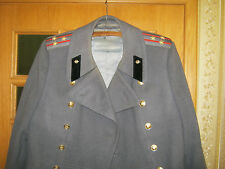 Russian Soviet Army Signals Colonel Winter Uniform Great Coat Overcoat Size 50 S