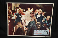 The Gypsy and the Gentleman Lobby Card - Italian - Pig Fight! (C-6) 1958