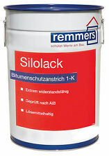 Remmers Ilack Silolack 25 L Cold Paint Bitumen Paint Sewage Treatment Plants