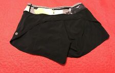 Lululemon Run Speed Shorts  Size 6