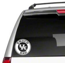 "UK Dad 5.5"" Car Vinyl Sticker Decal university of proud wildcat kentucky fan B38"
